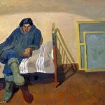 Попков Портрет художника ВЕ Игумнова 1963
