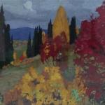 Попков Алтай осенью 1959 52х76