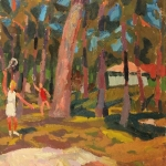 Попков Парк в Паланге 1968 км 46х34