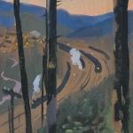 Попков Поезд Из серии Абакан-Тайшет 1959-60