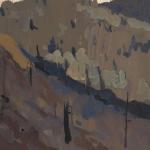 Попков Сопки на Абакане Из серии Абакан-Тайшет 1960
