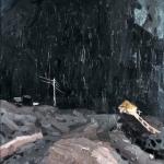 Попков Стройка ночью 1959-60